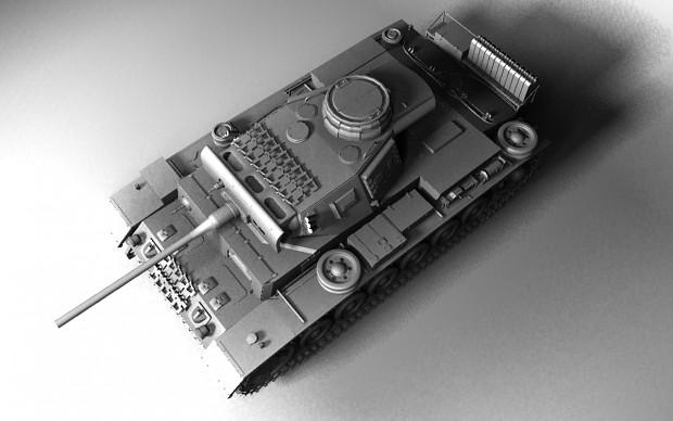 Panzer III Ausf-L Model TopLbare (WIP)