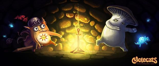 Prepare the Mushrooms!