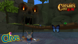 That river doesn't look too safe Clive...