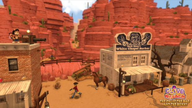 Mars Town, 1885