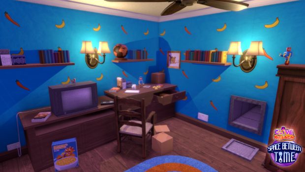 Clive 'N' Wrench's Room