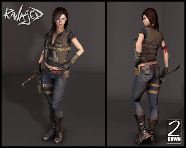 Resistance Recon Character