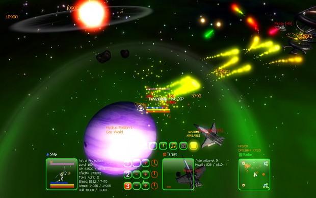 Galactic Arms Race Screenshot