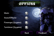 Luminati options screen.