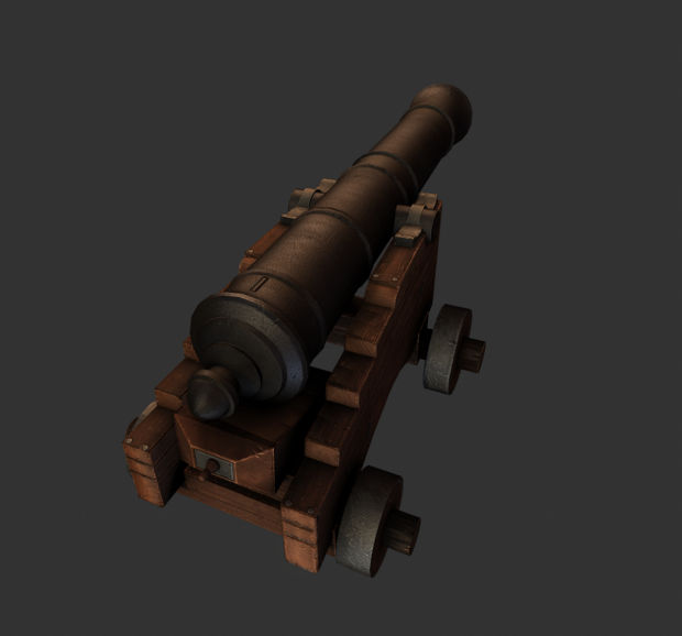 Textured Cannon by Ben