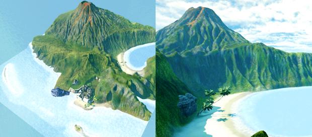 Map - Island (WIP)