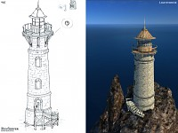 Lighthouse model and concept