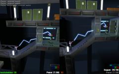 Split screen multiplayer