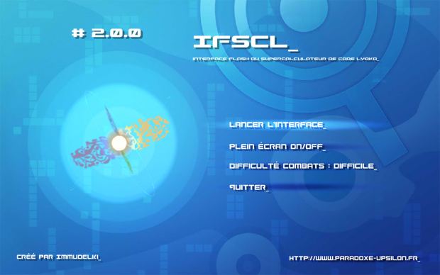 IFSCL screen v.2.0.0