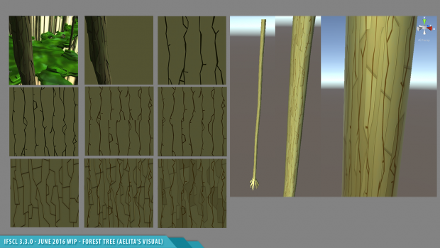 IFSCL 3.3.0 - Making Of Tree Texture in Forest Sector