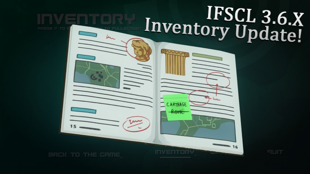 IFSCL 3.6.X - Inventory Update!