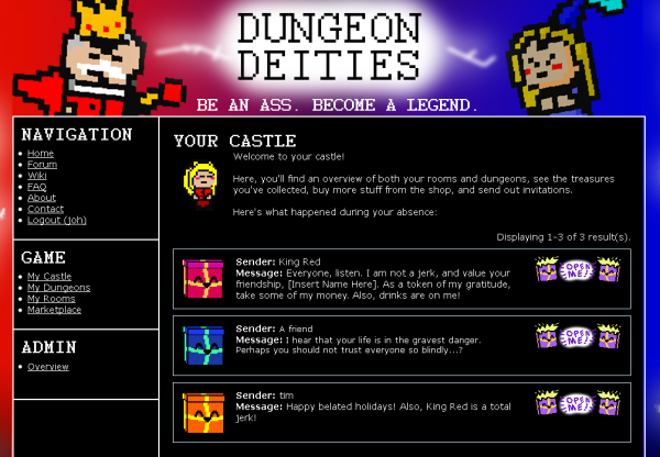 Gifting in Dungeon Deities