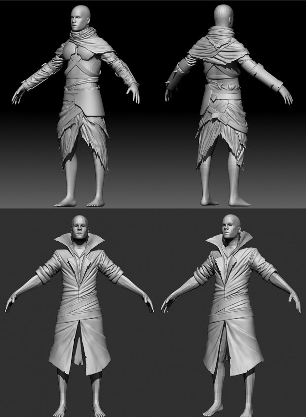 More clothing models in progress