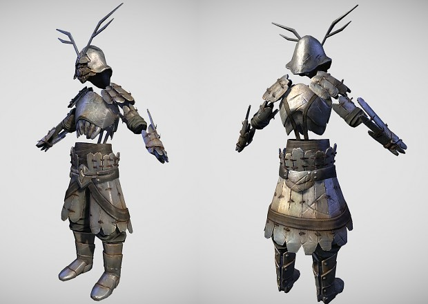 First of the new armour sets is finished!