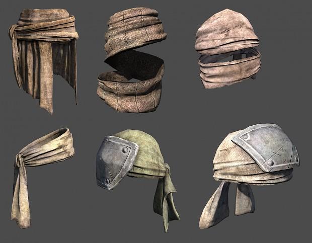 New headgears