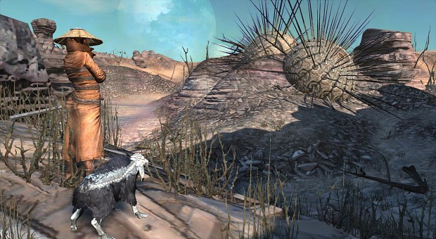 A girl and her bonedog image - Kenshi - Indie DB