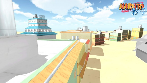 Konoha buildings WIP