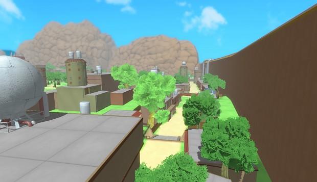 Konoha village Concept WIP