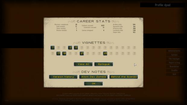 Career Screen