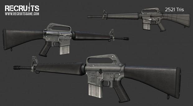 Colt M16A1 Rifle