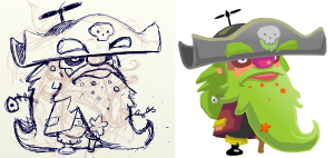 Capt. Greenbeard the Pirate