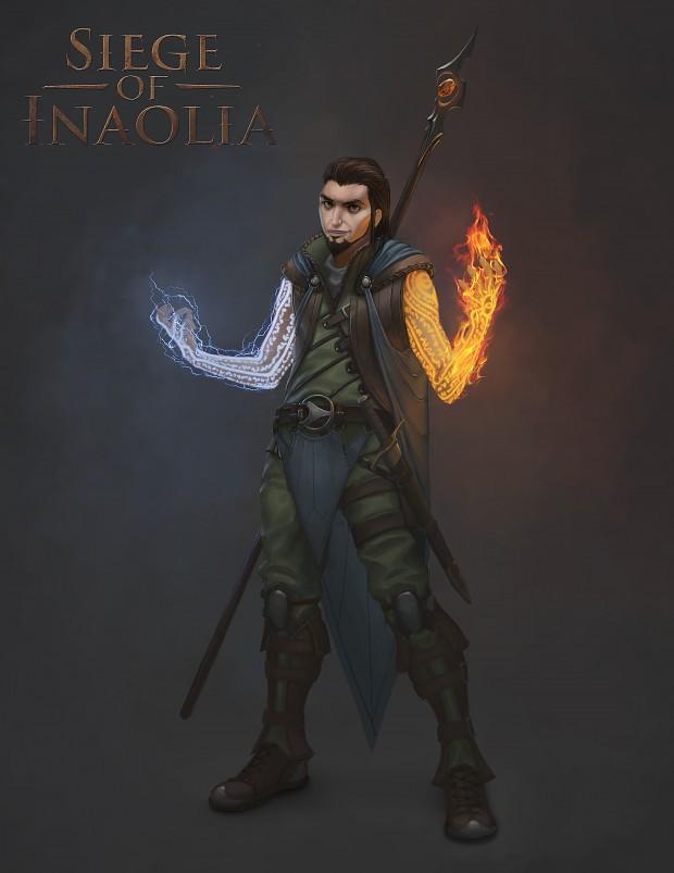 Concept Art - Draeldos, The Rogue Wizard