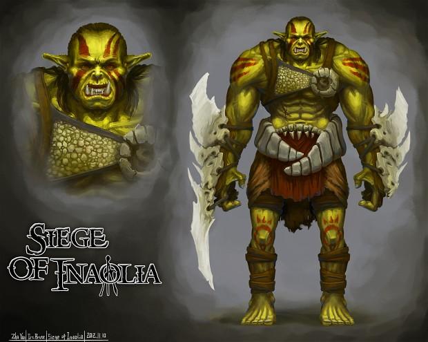 Concept Art - Orc Brute