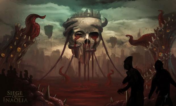 Concept Art - The Flesh Temple