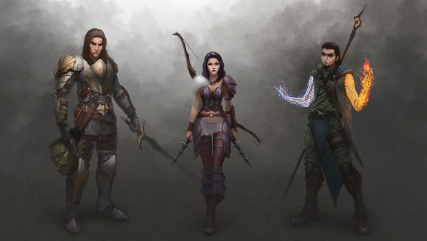 Concept Art - The Unlikely Heroes