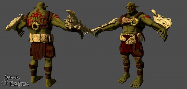 Renders/Screenshots - Orc Brute WIP