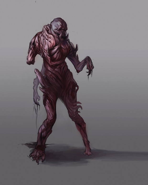 Concept Art - Screecher Daemon