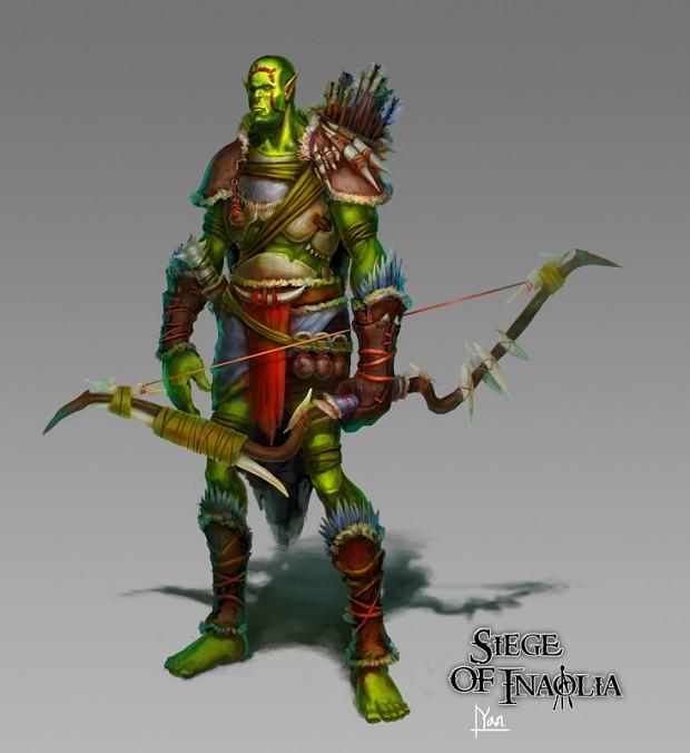 Concept Art - Orc Archer