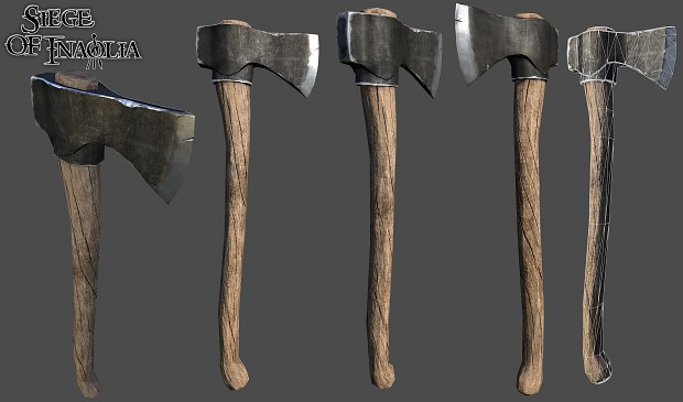 Renders/Screenshots - Axe