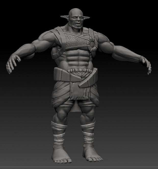 Renders/Screenshots - Orc Brute