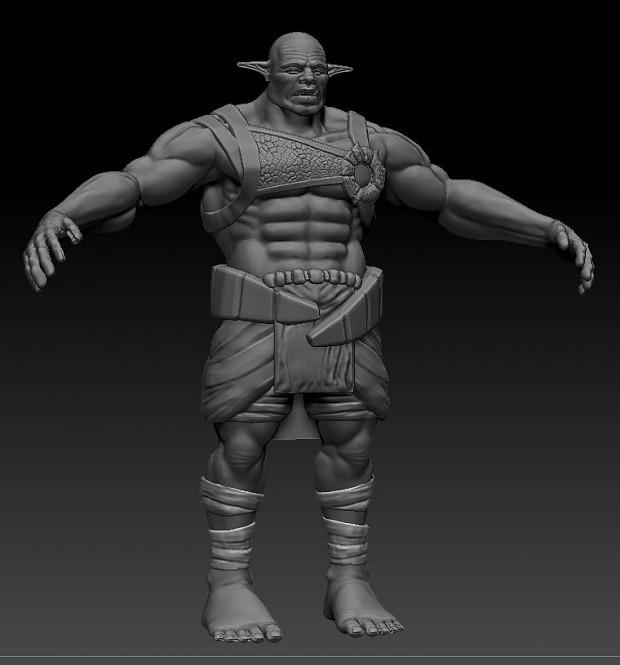 Renders/Screenshots - Orc Brute