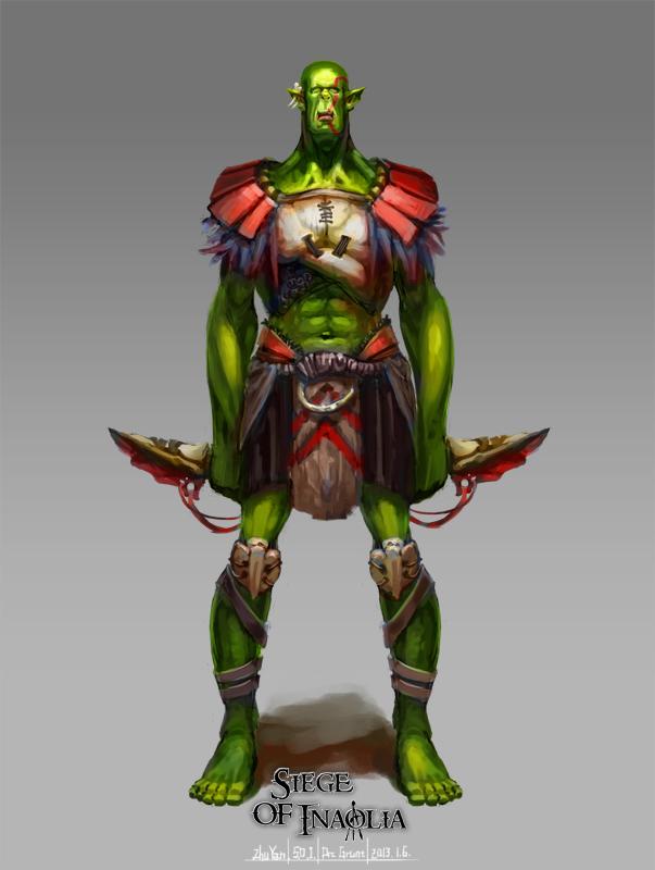 Concept Art - Orc Grunt