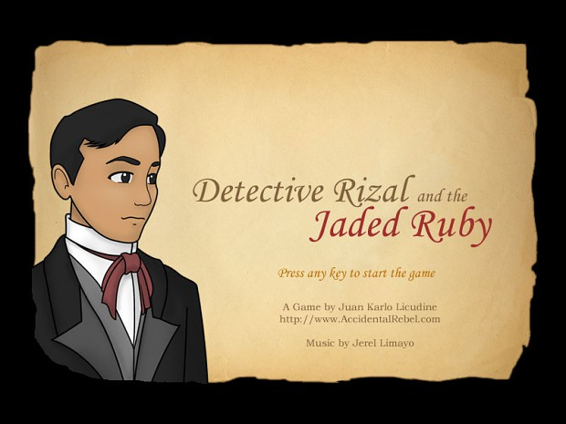 Detective Rizal and the Jaded Ruby Screenshots