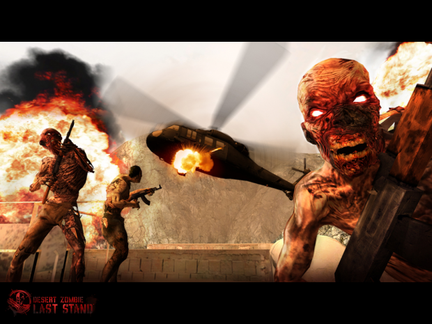 Desert Zombie Screenshot #1
