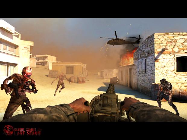 Desert Zombie Screenshot #2