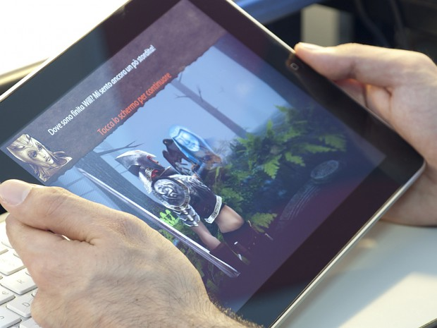 Guardians - Running on iPad