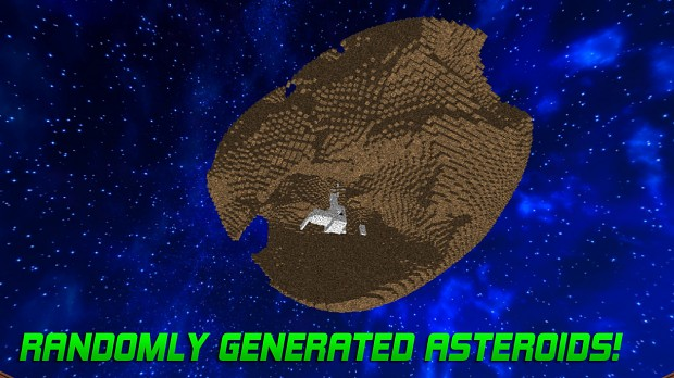 Randomly Generated Asteroids!