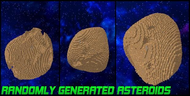 Randomly Generated Asteroids