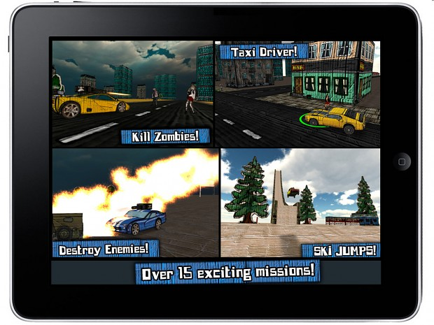Cars And Guns 3D for iPhone & iPad now in iTunes!