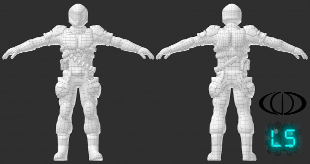 Jason 3D Render Wireframe