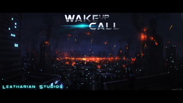 Promotional Wallpaper 2--City Under Fire