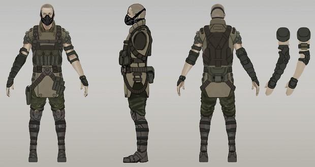 Resistance Soldier Final Concept
