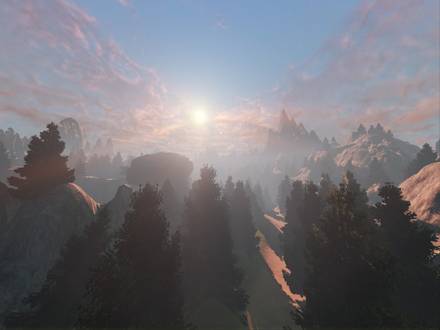Early Early WIP Screens of Forest Level