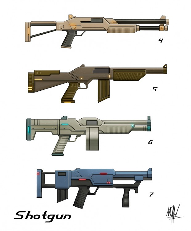 Some Shotgun Concepts, Tell Us What You Think