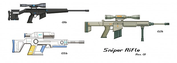 Snipers Concept Sheet