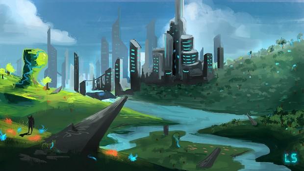 Environment Painting, still looking good